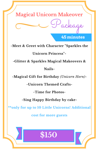 Magical Unicorn Makeover Package (1)