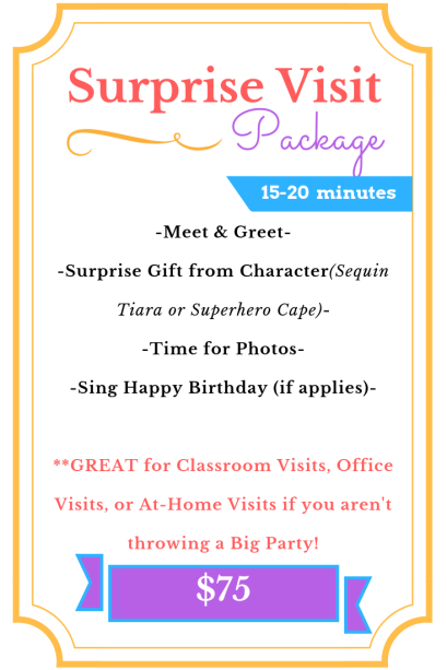Surprise Visit Package